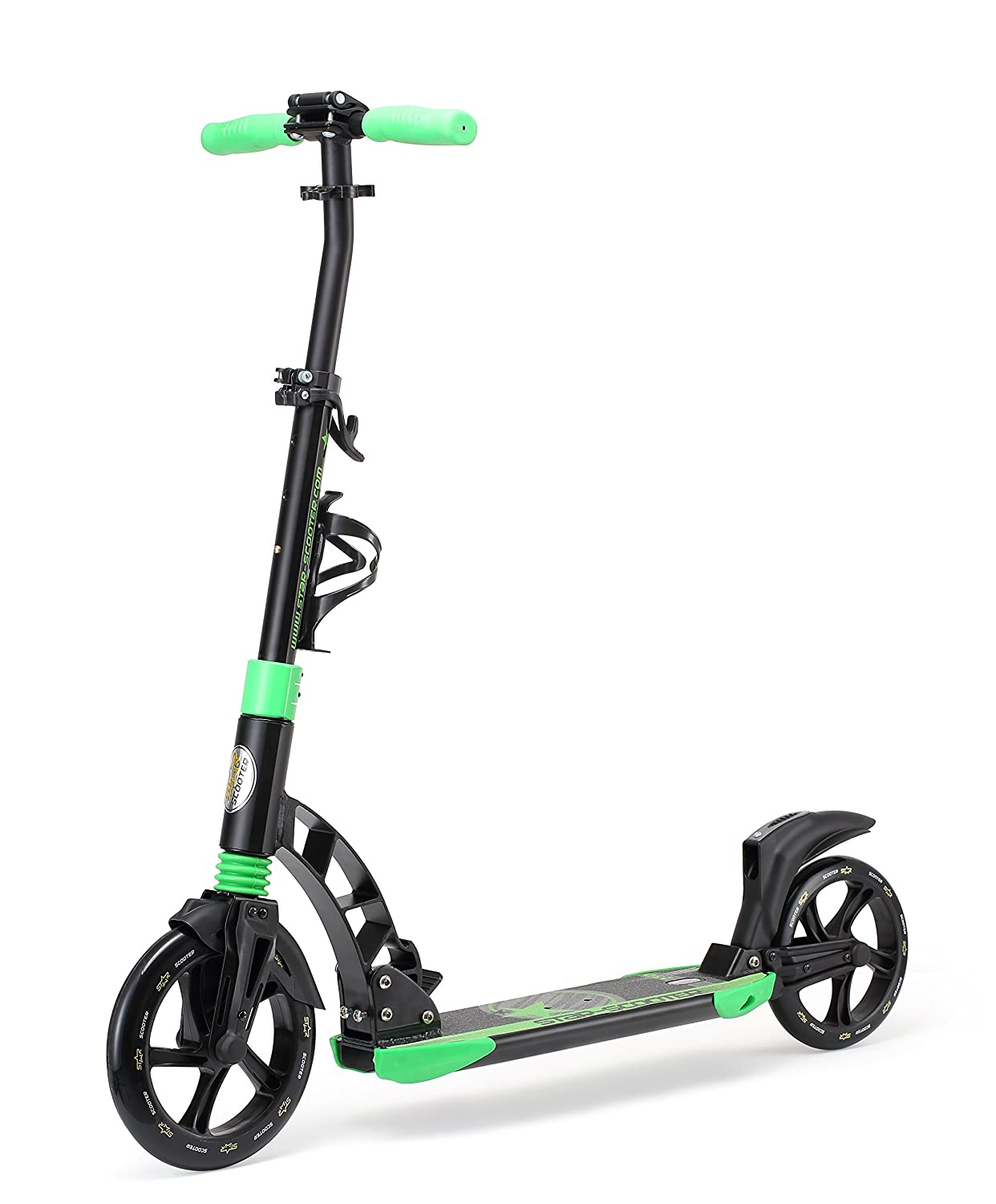 Star-Scooter Pro Sport Patinete 230mm Premium Big Wheel Plegable con suspensión Completa, para Adultos y niños Desde Aprox. 8 años ★ High End Edition ...