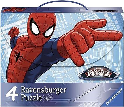 Spiderman Pack 4 Puzzles de 100 Piezas