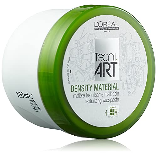 L'Oreal Professionnel - Cire pour Cheveux - Tenue Souple Finition Mat - Donnez Corps à vos Cheveux (Décoifé, Ebouriffé) - Play Ball Density Material - Texturising Wax-paste Pot - 100ml