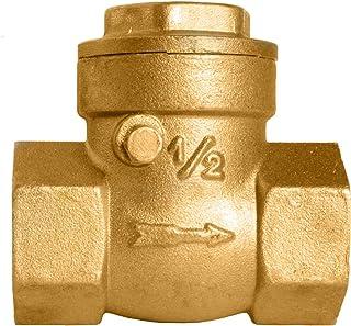 1/2' Brass Swing Check Valve - 125WOG