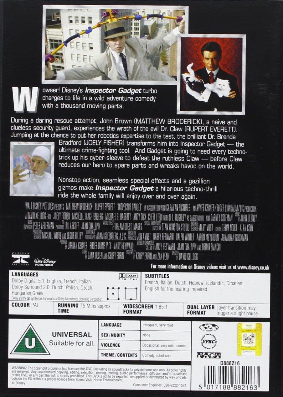 Inspector Gadget [Reino Unido] [DVD]: Amazon.es: Matthew Broderick ...