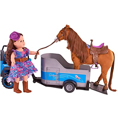 """My Life As Horse Trailer for 18"""" Horses (Doll and Horse Not Included): Toys & Games"""