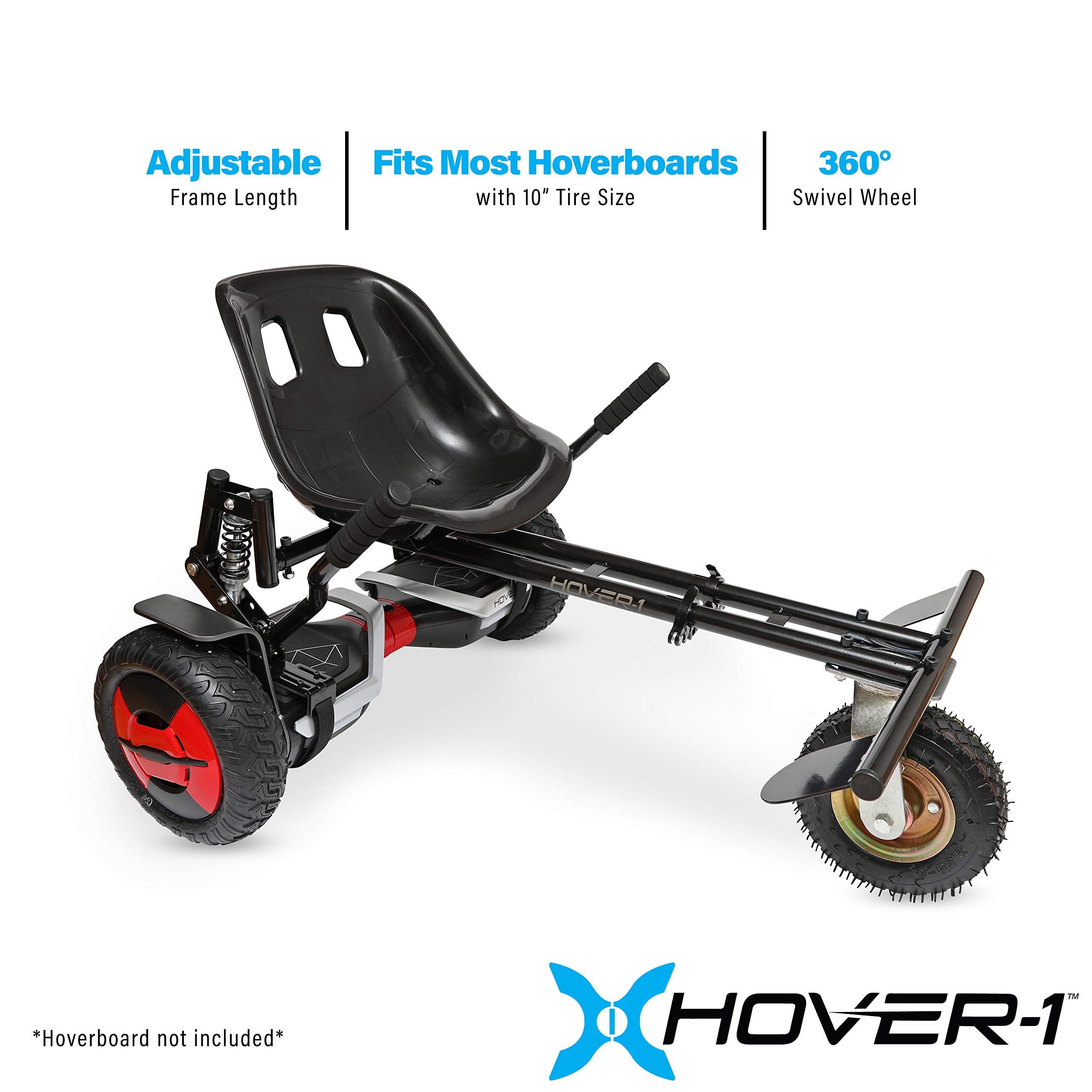 HOVER-1 Beast Buggy Attachment Transform Hoverboard into Off-Road Go-Kart by HOVER-1