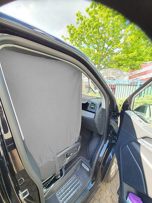Frontscheibe Sonnenschutz Camping F/ührerhaus Gardinen Vorhang kompatibel mit Mercedes Vito W638 ab 1996-2003 FB:F/_SW