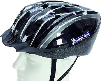 Michelin Ms Action Sport Casco de Bicicleta, Color Negro y Blanco ...