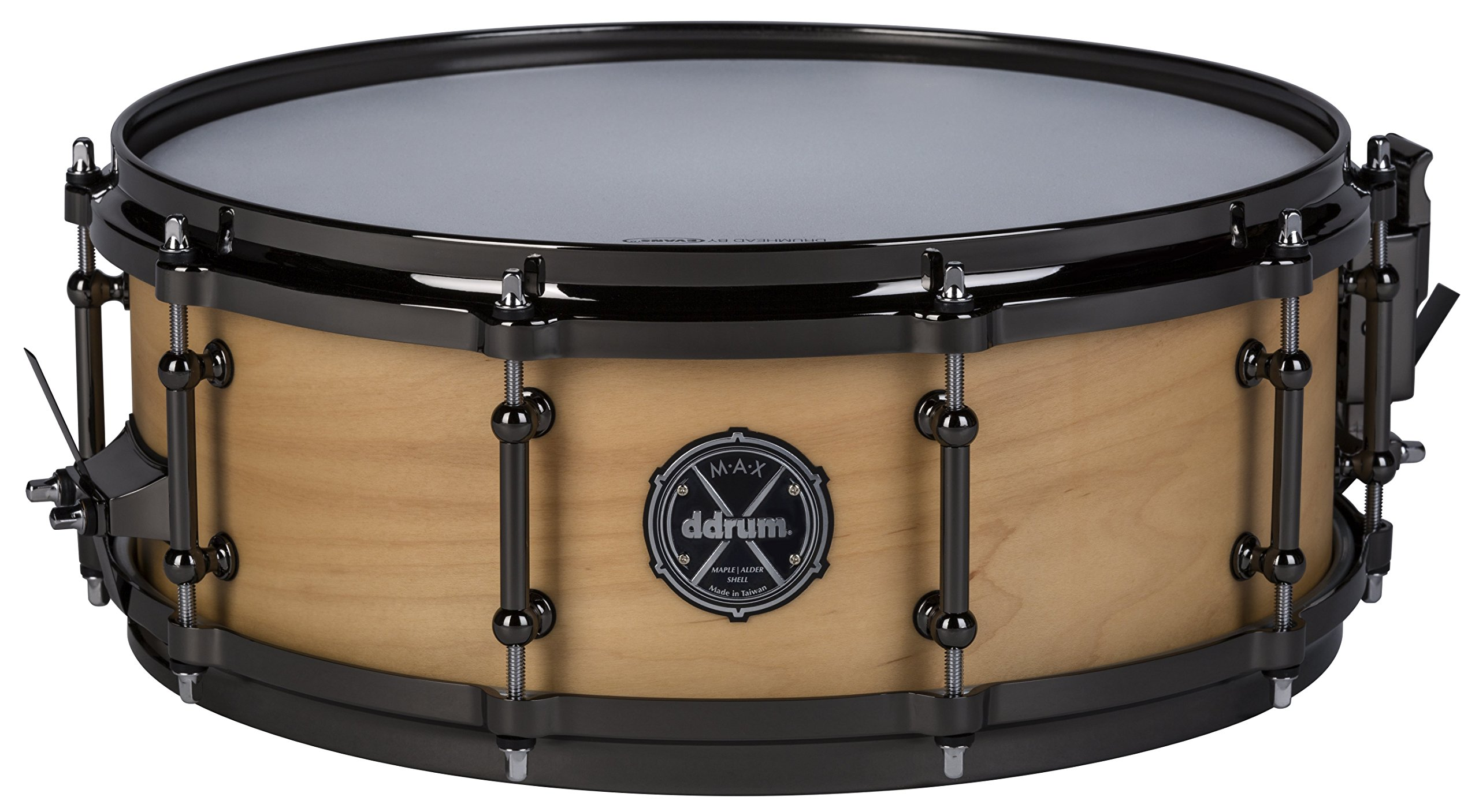 ddrum MAX Series 5x14 Snare Drum-Satin Natural (MAXSD5X14SN)