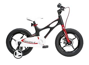 Royal Baby Space Shuttle Bicicleta, Unisex niños, Negro, 16 Pulgadas