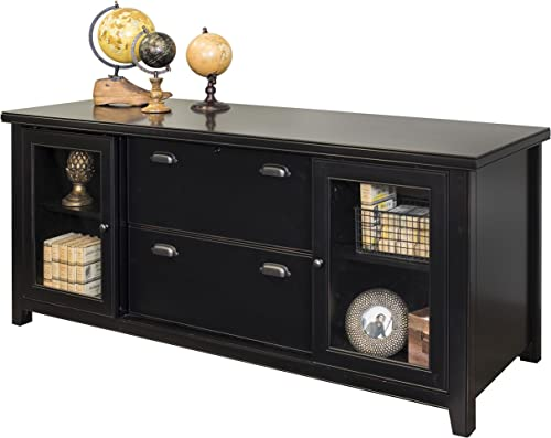 Martin Furniture Tribeca Loft Storage Credenza, Black