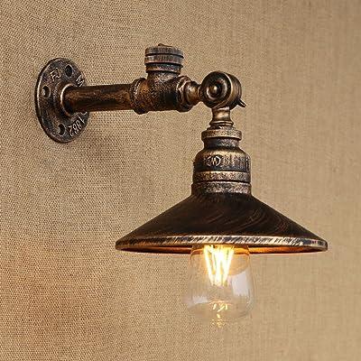 Lampe Américain De Salon Couloir Cuivre Mur Chambre Simple Escalier Décoration Chevet A Fond ynw8v0OPmN