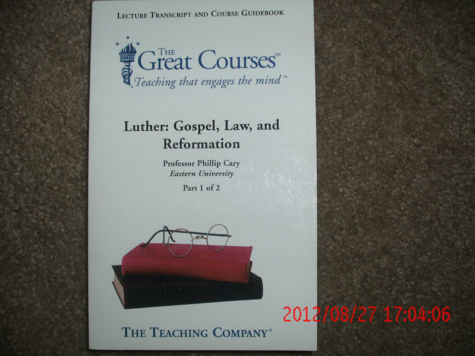 Download The Great Courses, Luther: Gospel, Law, and Reformation pdf epub