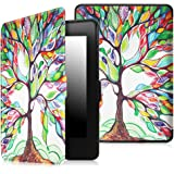 Fintie SmartShell Case for Kindle Paperwhite - The Thinnest and Lightest PU Leather Cover Auto Sleep/Wake for all-new Amazon Kindle Paperwhite (Fits all 2012, 2013, 2015 and 2016 Versions), Love Tree