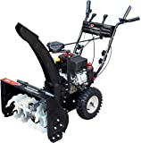 Power Smart DB7659A 24-inch 208cc LCT Gas Powered Compact 2-Stage Snow Thrower with Electric Start