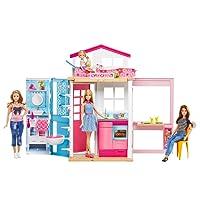 Barbie DVV48 - Casa Componibile con Bambola Barbie