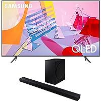 "Samsung QN65Q60TA 65"" Ultra High Definition 4K Quantum HDR Smart QLED TV with a Samsung HW-T650 Bluetooth Soundbar with…"