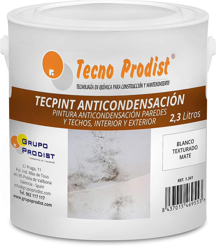 TECPINT ANTICONDENSACIÓN de Tecno Prodist - (2,3 Litros) - Pintura ...