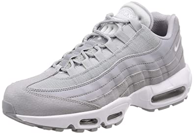 authentic quality entire collection new images of Nike Men's Air Max 95 Essential, Wolf Grey/Wolf Grey-White ...