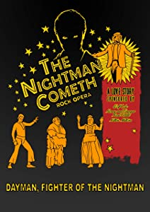 The Nightman Cometh Poster It's Always Sunny in Philadelphia Art Gifts For Him Rock Opera Wall Decor Dayman, Fightet of the Nightman Poster Musical Wall Art (24x32)