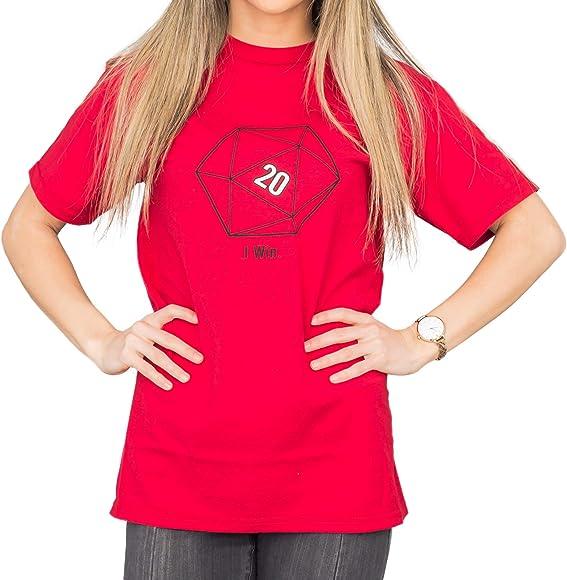 The Big Bang Theory Sheldon Cooper 20 lados Dice D20 adulto camiseta roja (adulto XXXL): Amazon.es: Ropa y accesorios