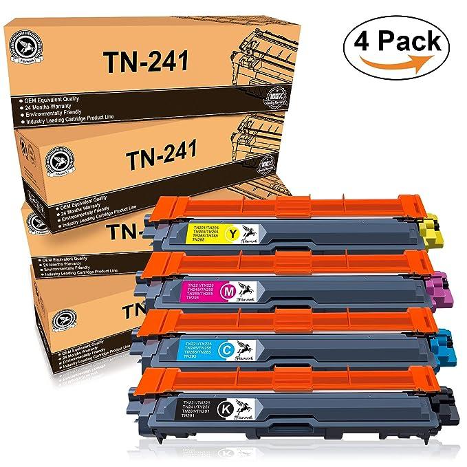58 opinioni per FITU WORK Sostituzione Compatibile per Brother TN241 TN245 Cartuccia del toner