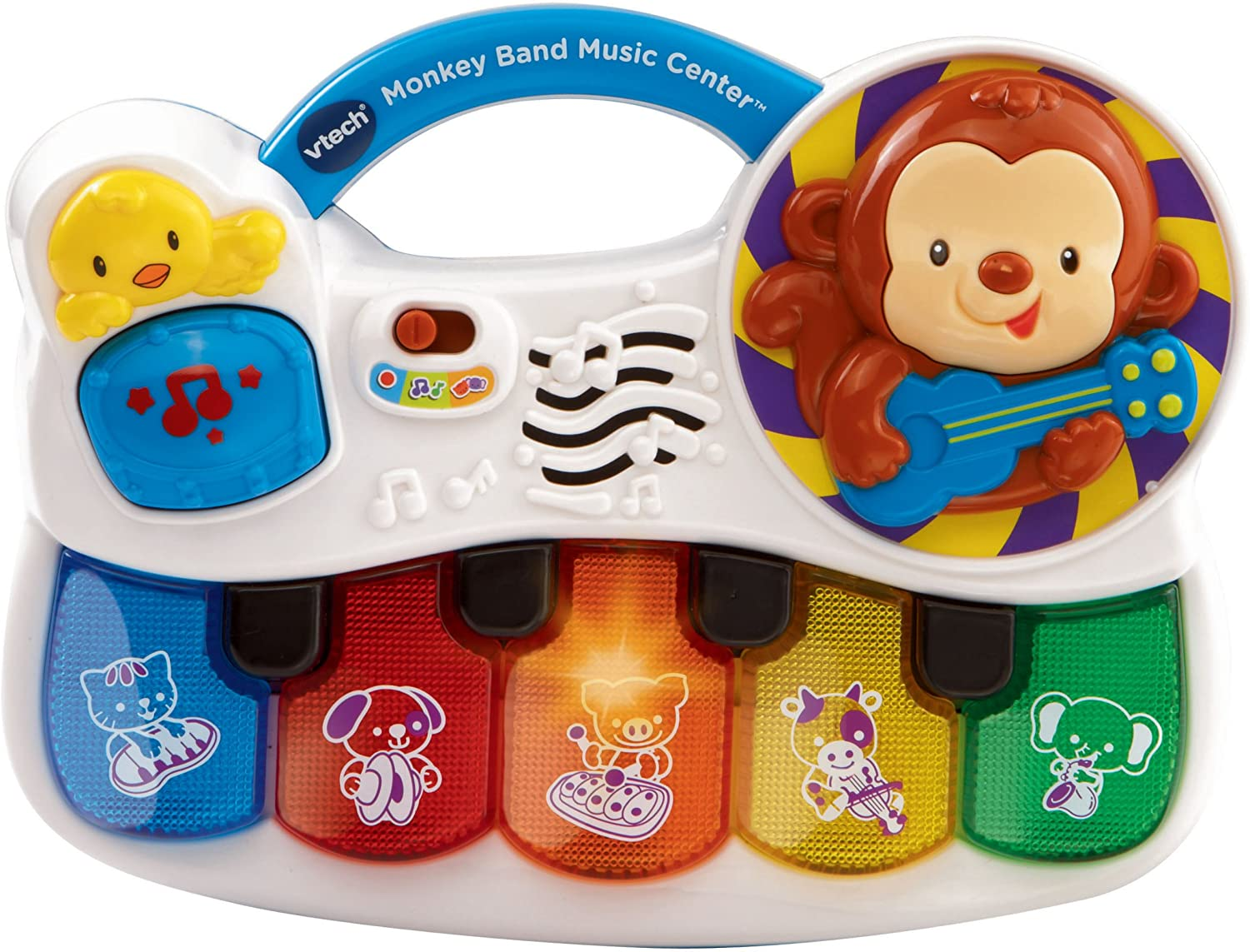 VTech Monkey Band Music Center, Great Gift for Kids, Toddlers, Toy for Boys and Girls, Ages Infant, 1, 2, 3