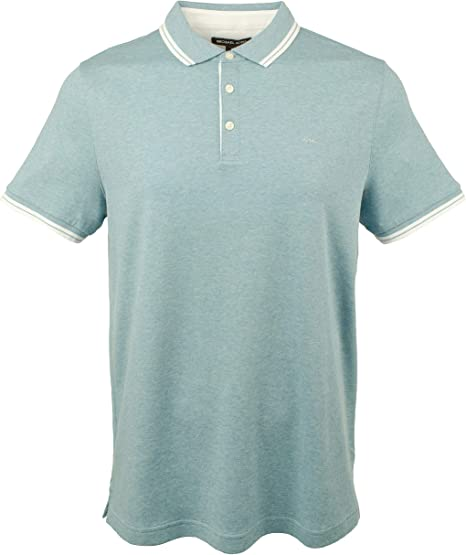 Michael Kors Mens Greenwich Cotton Polo Shirt: Amazon.es: Ropa y ...