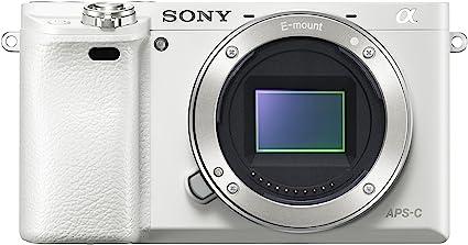 Sony Alpha 6000 - Cámara compacta de 24.3 Mp (pantalla de 3.0 ...