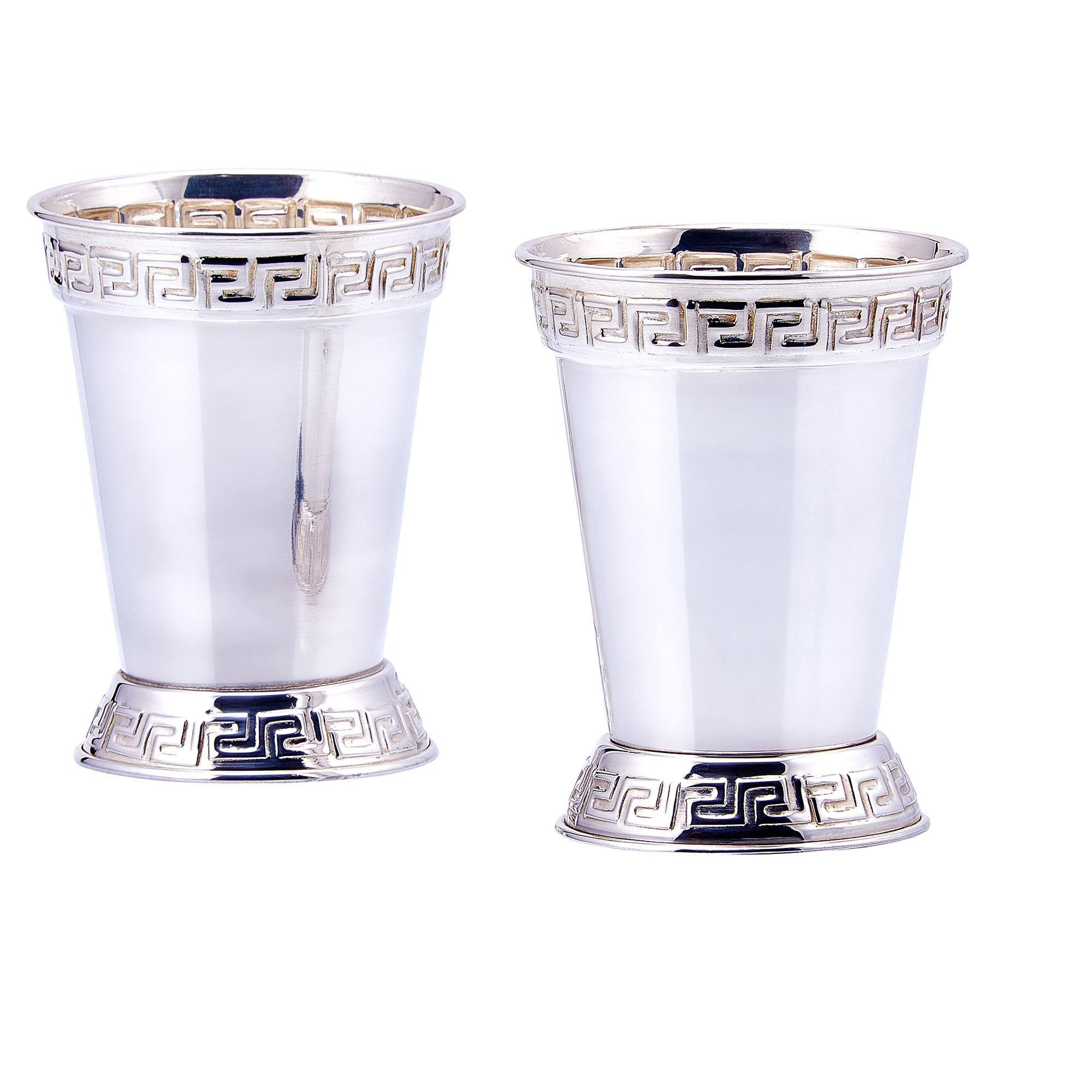 Old Dutch Mint Julep Cups (Set of 2), 12 oz., Silver