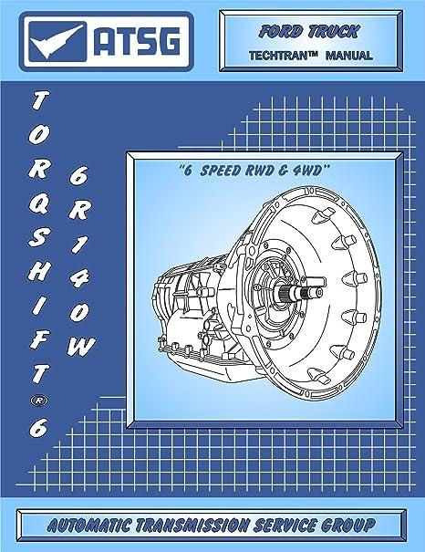 atsg 6r140 W Manual Técnico