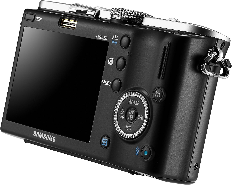 Samsung Cámara réflex Digital EV-NX100 con 14.6 MP y grabación HD ...