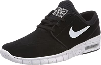 presupuesto poetas tubo  Amazon.com | Nike Sb Stefan Janoski Max L Mens Trainers 685299 Sneakers  Shoes (UK 3.5 US 4 EU 36, Black White 002) | Skateboarding