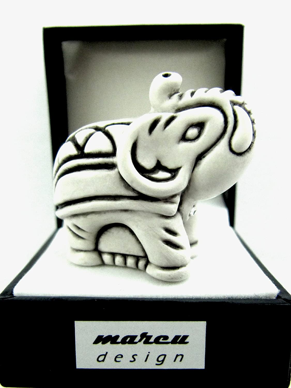 Deko-Elefant, Mini-Elefanten-Figur, MADE WITH SWAROVSKI® ELEMENTS ...