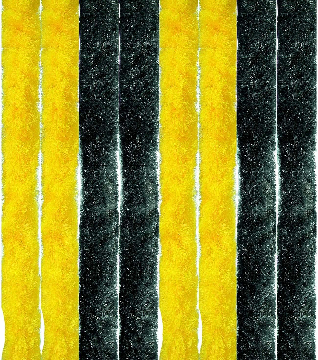 Arsvita Flausch-Vorhang, viele Variationen, Größe  140x200 cm, Farbe  hellgrau-weiß B01DYG34VI Vorhnge