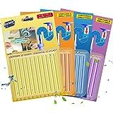 Drain Sticks Drain Stix Drain Cleaner & Deodorizer Sticks Drainstix for Clogs Kitchen Bathroom Sinks Unclog Eliminate…
