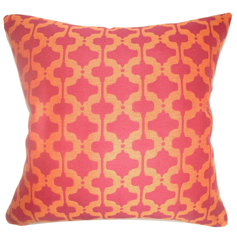 The Pillow Collection Illica Moorish Bedding Sham Chili Pepper King//20 x 36