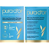 PURA D'OR Hair Loss Prevention Therapy Masque Intense Moisturizing Conditioner Hair Mask Treatment Organic Argan Oil & Biotin