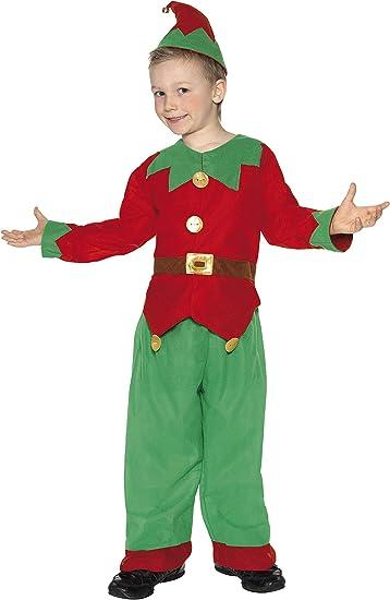 Ladies Tunic Female Christmas New Year Fancy Dress Smiffy/'s Elf Costume