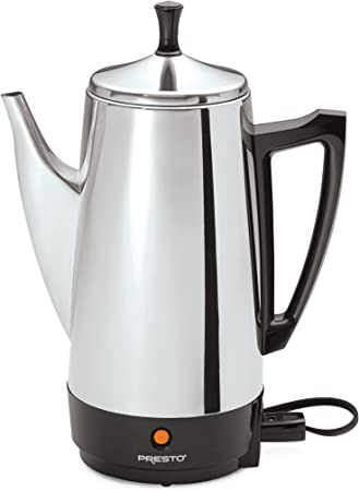 12 Cup Stainless Steel Cordless Electric Kettle