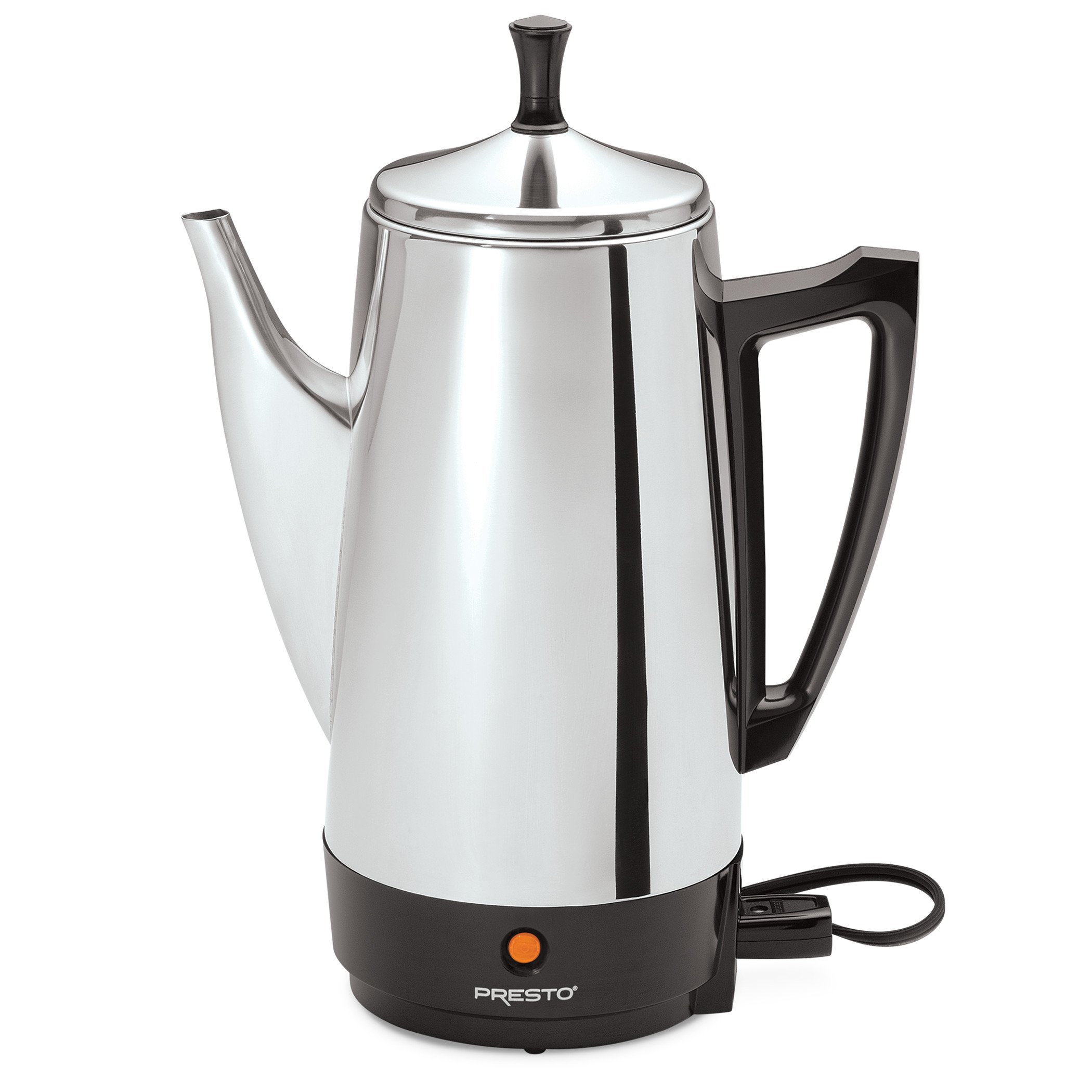 Presto 02811 12-Cup Stainless Steel Coffee Maker by Presto