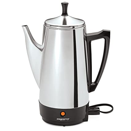 .com: presto 02811 12-cup stainless steel coffee maker ...
