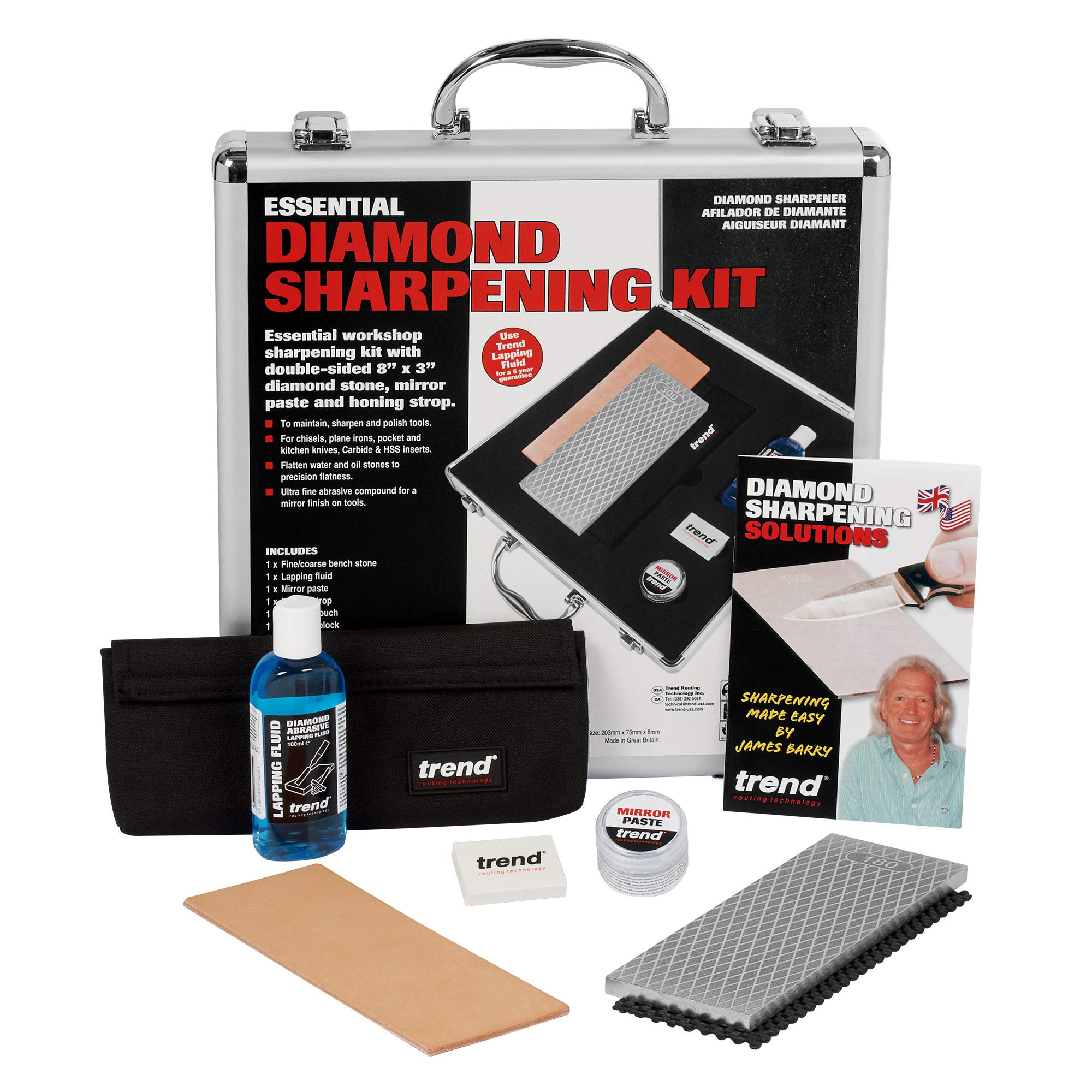 Trend DWS/KIT/H Essential Diamond Sharpening Kit