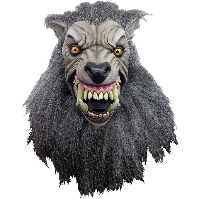 Máscara Hombre Lobo en Londres de látex