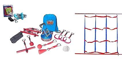 American Ninja Warrior Deluxe Ninjaline Kit with 11 Obstacles 40' on