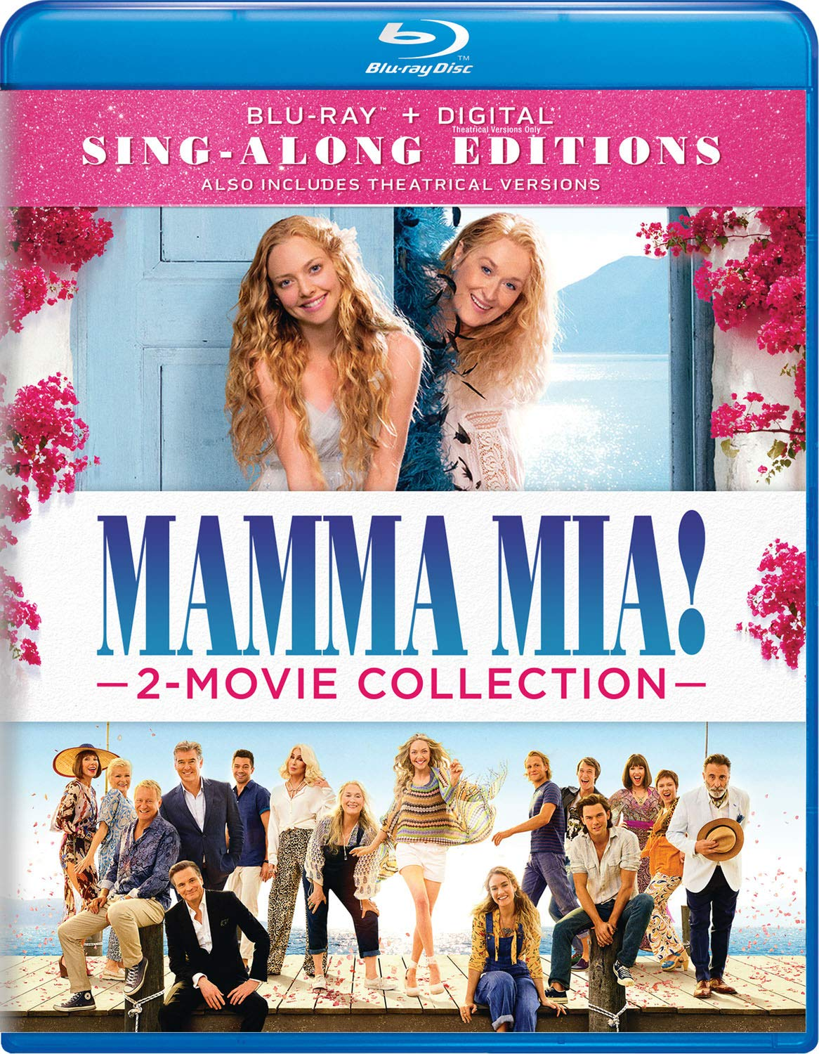 Blu-ray : Mamma Mia! 2-movie Collection (Digital Copy, 3 Pack)
