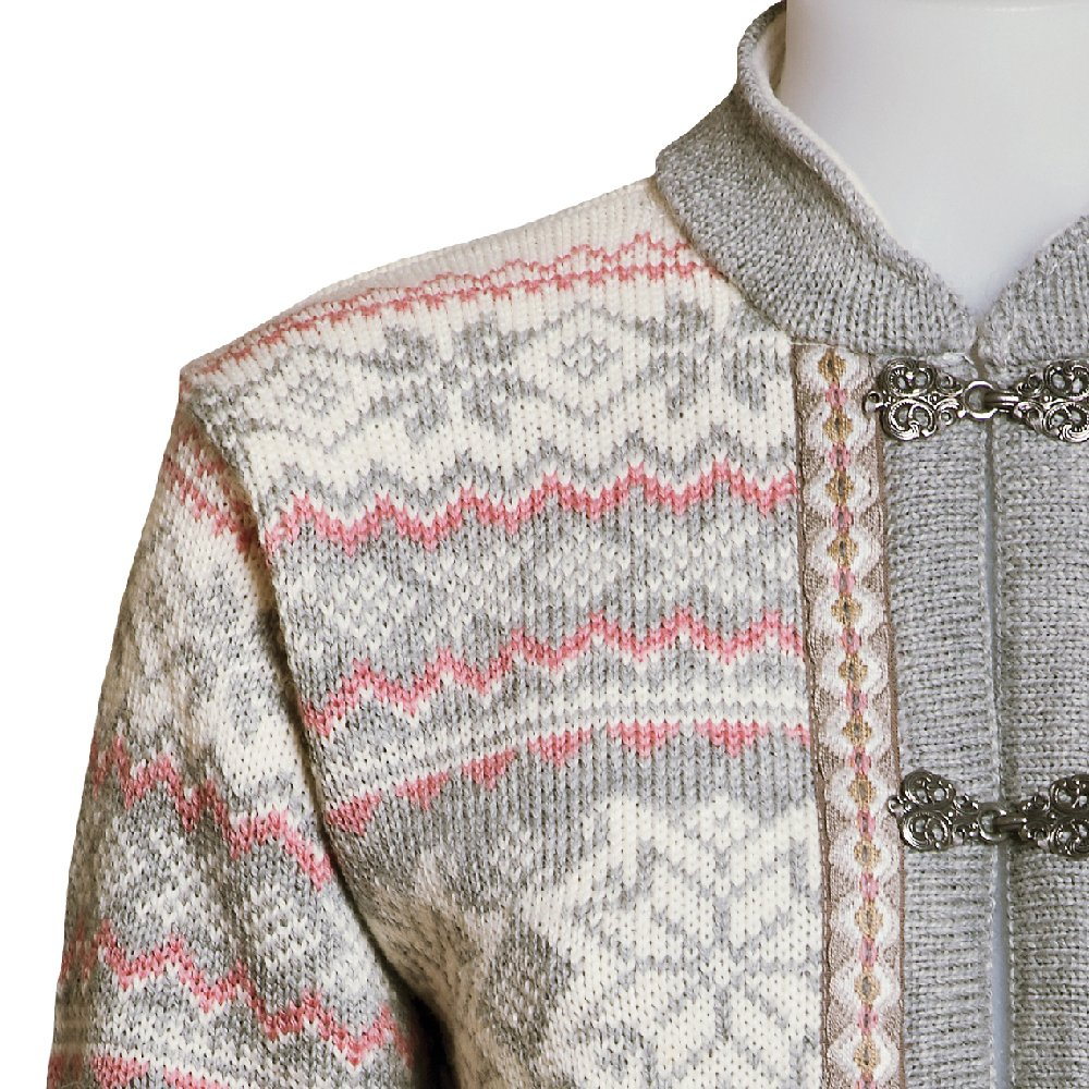 Norlender Noruega 100% lana Voss Cardigan Sweater W/libre 100% lana ...