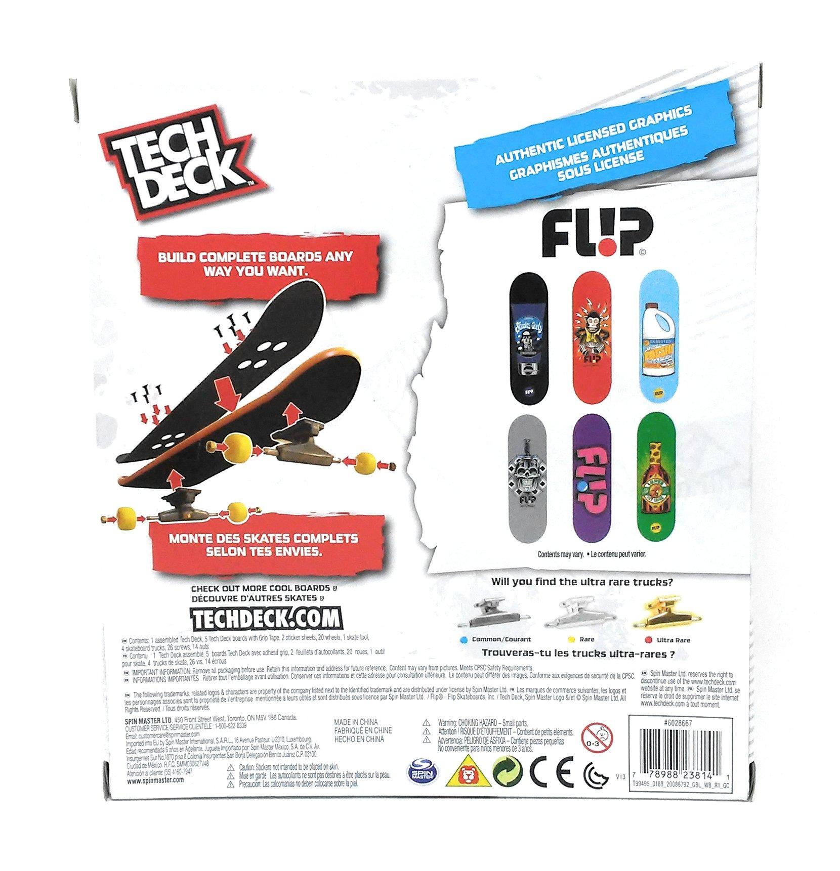 Tech Deck Sk8shop Bonus Pack - FLIP - 2017 Release by Tech Deck (Image #1)