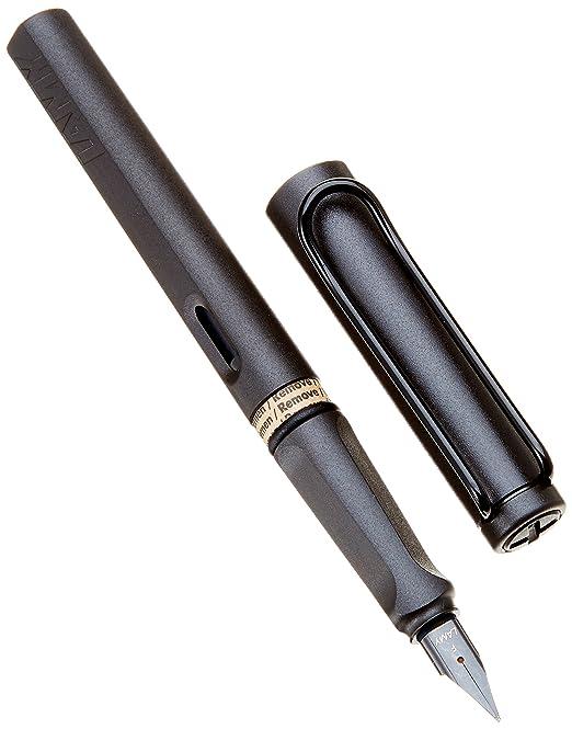 82 opinioni per LAMY F/P 17 F Penna stilografica con pennino fine, modello Safari, Nero (Umbra)