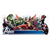 RoomMates Avengers Assemble Personalization Headboard Peel And Stick Wall Decals,Multicolor