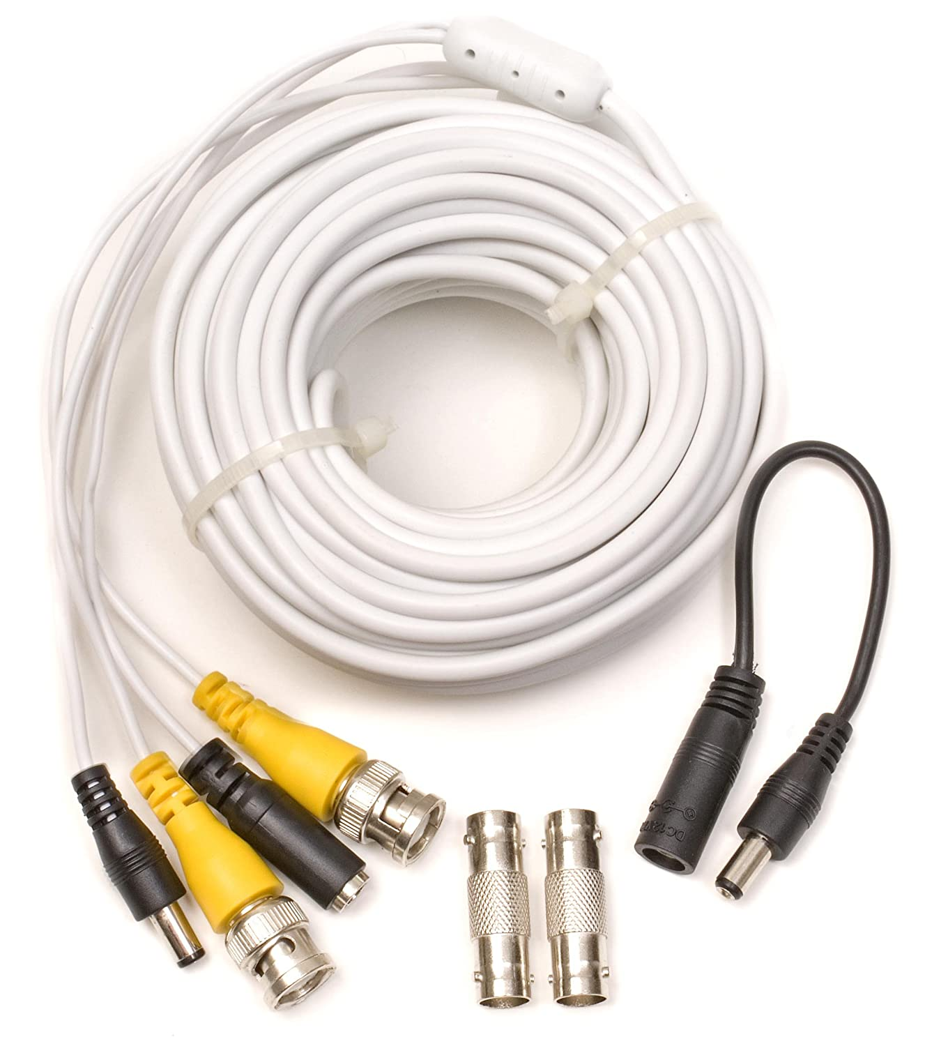 Amazon.com : Q-See 50FT BNC Video & Power Cable with 2 Female ...