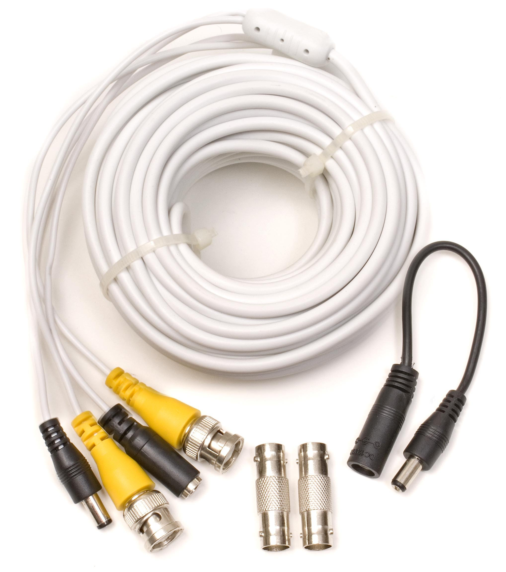 Q-See 50FT BNC Video & Power Cable with 2 Female Connectors