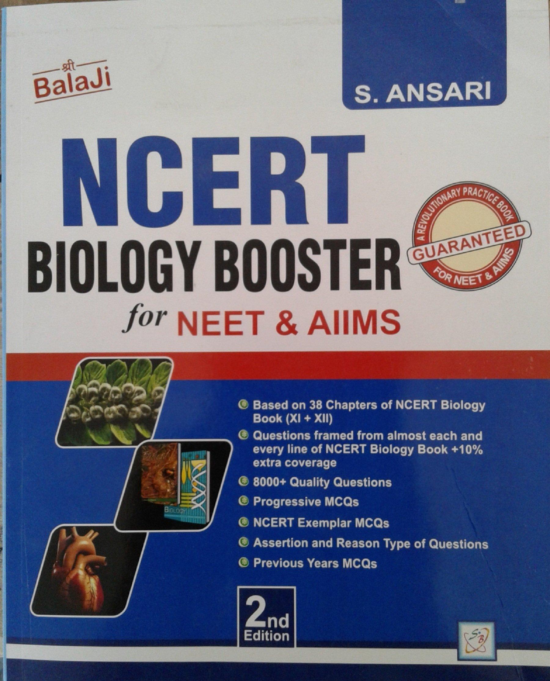 Buy Balaji NCERT Biology Booster Book Online at Low Prices